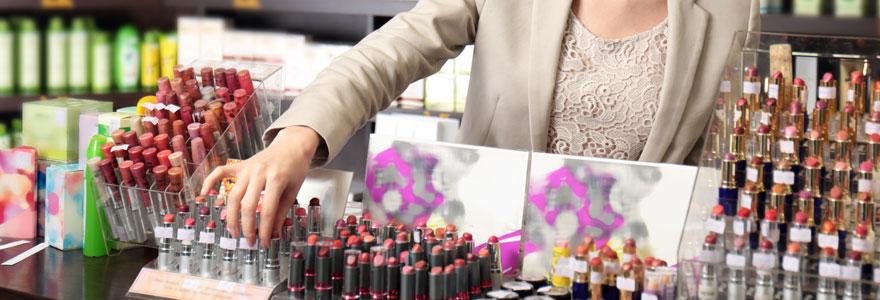 Produits de beauté et de parfumerie